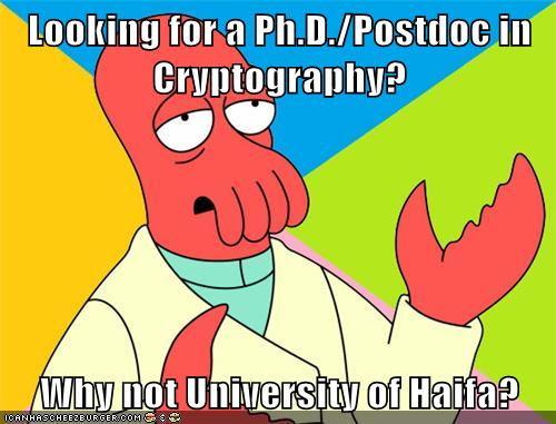 cryptography research thesis